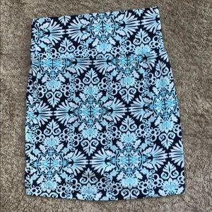 Cool print skirt